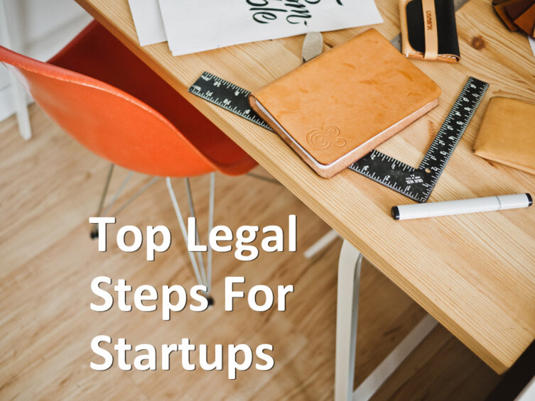 top legal steps for startups