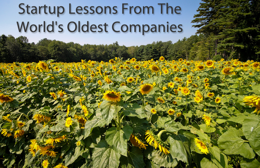startup lessons world's oldest companies
