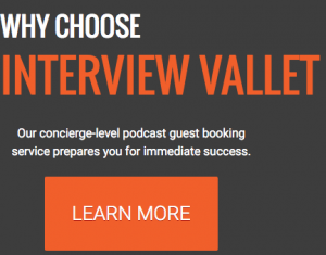 Interview Valet - get podcast interviews