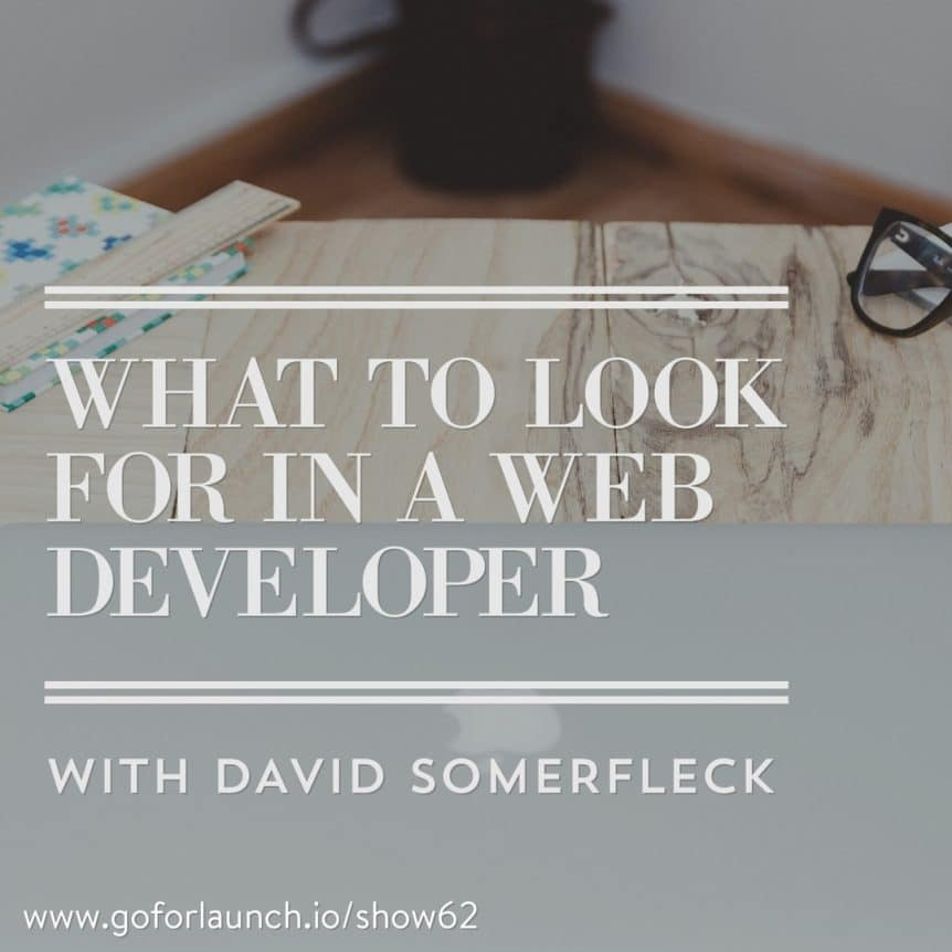 What to look for in a web developer