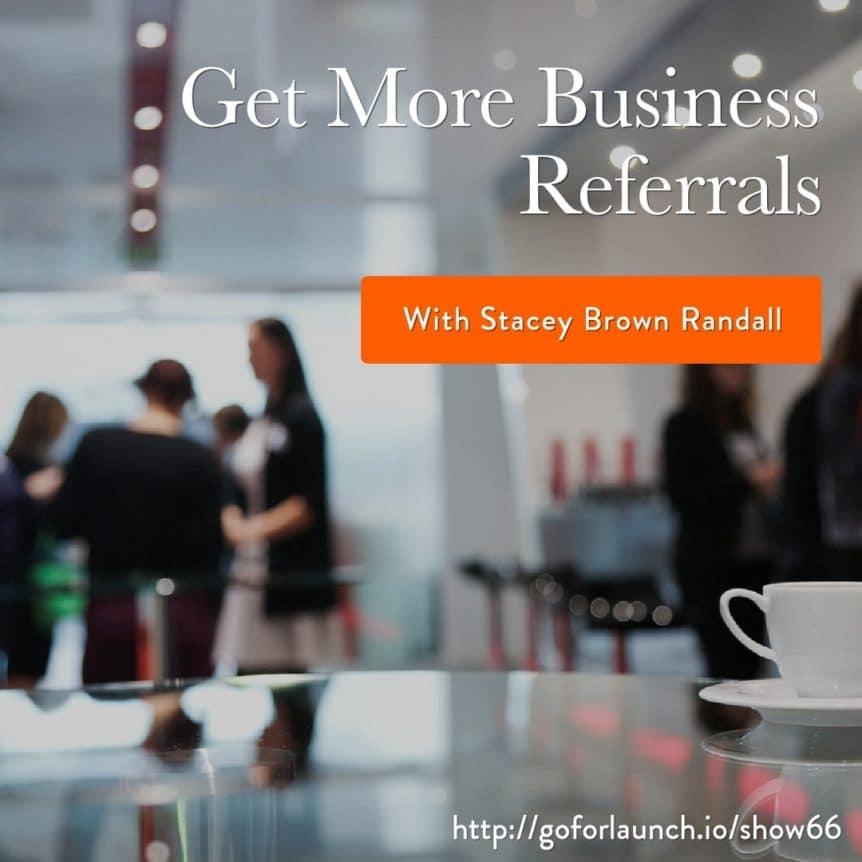 get business referrals