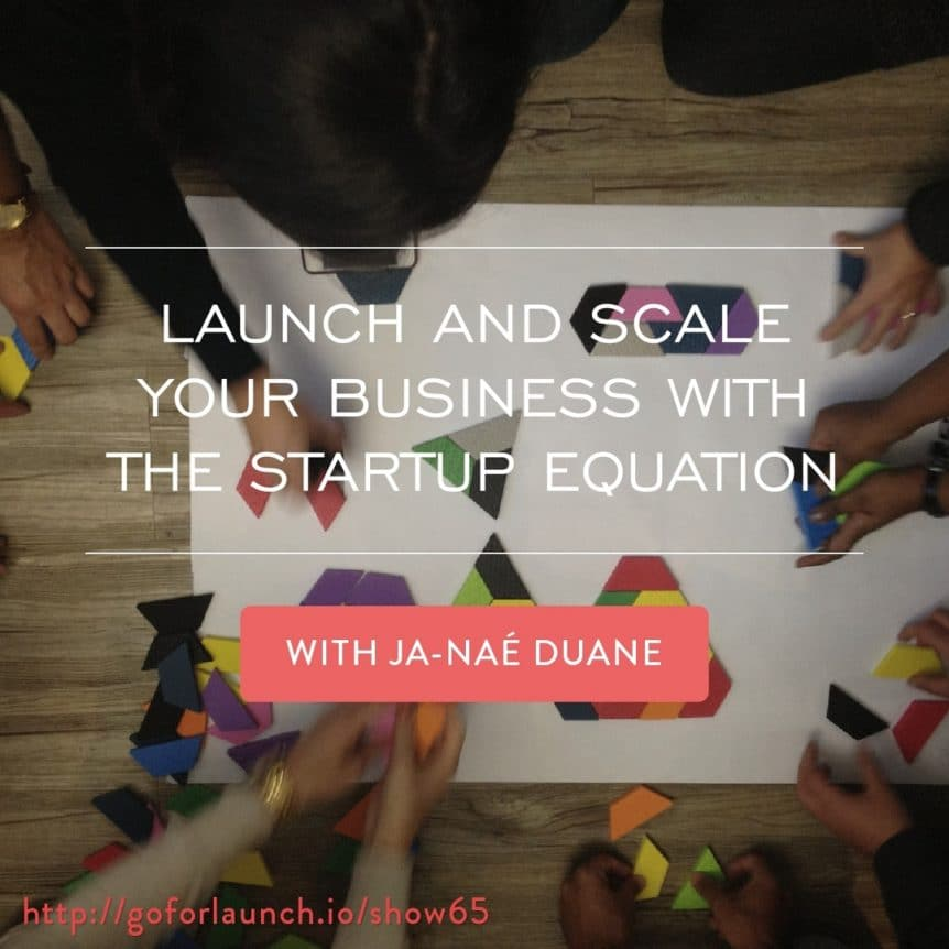 launch and grow your business with the startup equation
