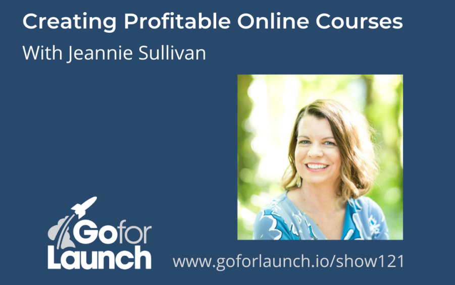 GFL-121 Jeannie Sullivan - Go For Launch Podcast Featured Image