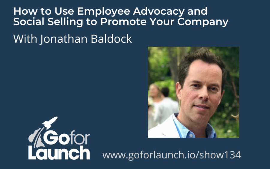 GFL-134 - Jonathan Baldock - Go For Launch Podcast Featured Image