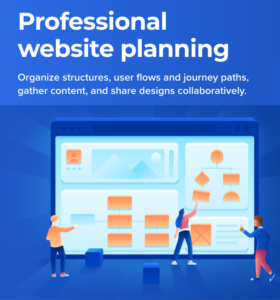 Slickplan web mockup sitemapping content software